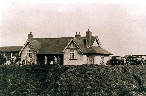 The old golf clubhouse 1920..as kids in the 1960`s,we always knew this as McAdams place
