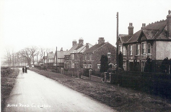 Butts Rd c1910