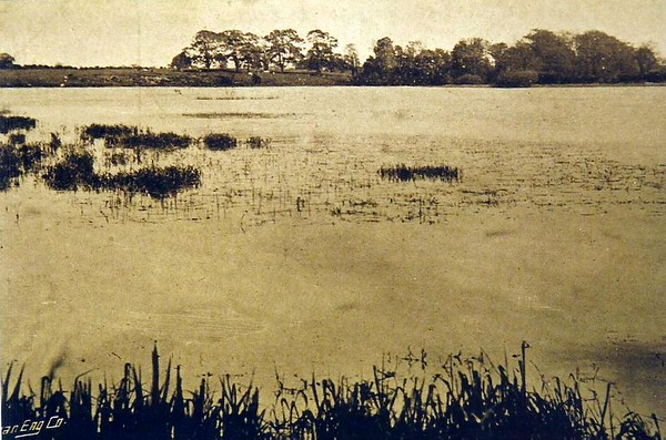Coate Reservoir c1900