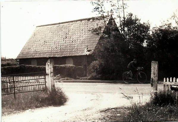 Anglican Church Coate 1960`s laterly demolished for road widening