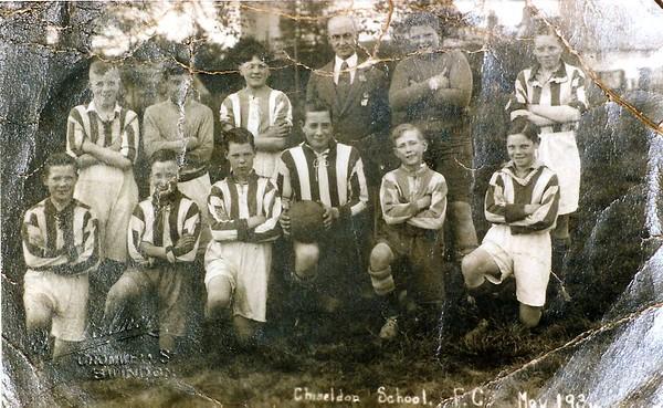 Chiseldon school FC 1934