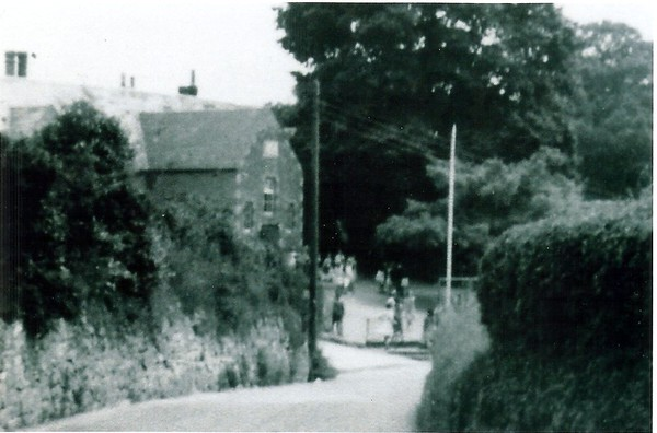 View of  the playground from High St undated