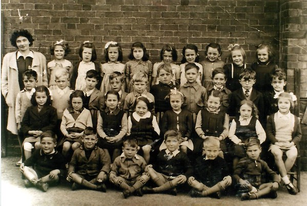 Miss Dom`s class Infants 1946