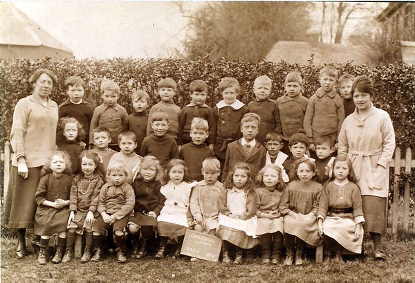 Mrs Cox and Miss Martin Infants 1920