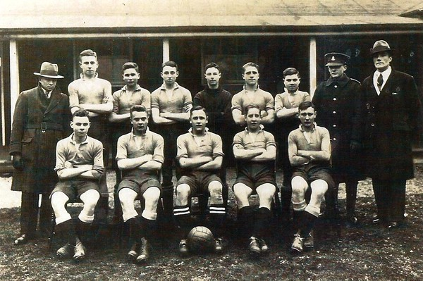 Chiseldon Camp football team 1920`s