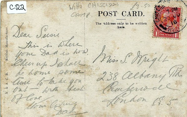 And on the reverse of that post card..