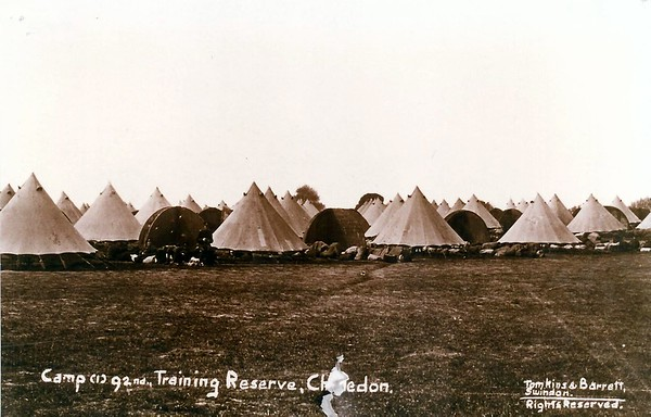 92nd Training Reserve 1914-15