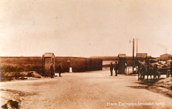 Camp Entrance Draycott Rd 1914