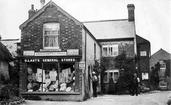 Wonderful photo of the Post Office and Weslyan Chapel