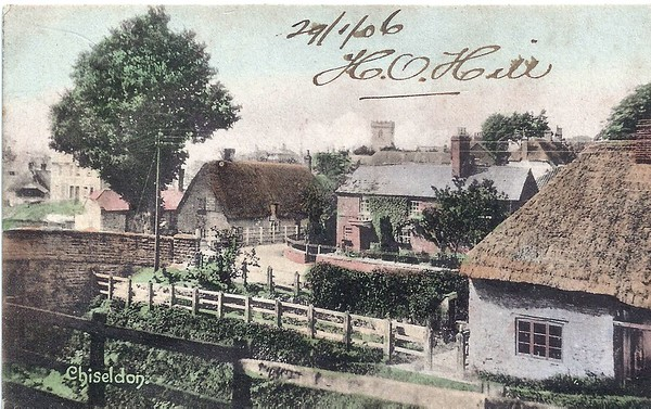 Another view of the cottages on the corner of High St.How did we ever allow this village to be destroyed as it has?