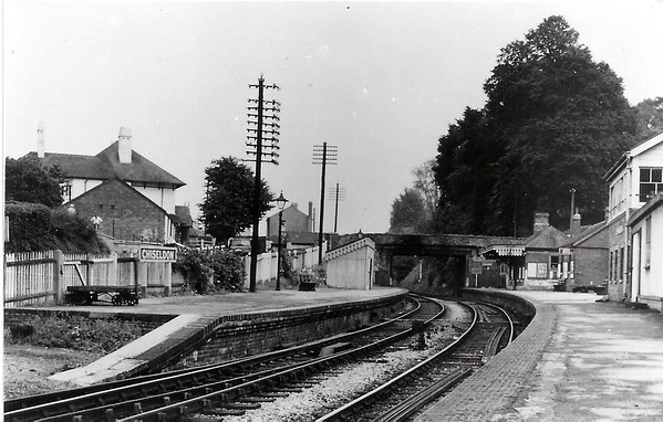 Lovely shot of the old station