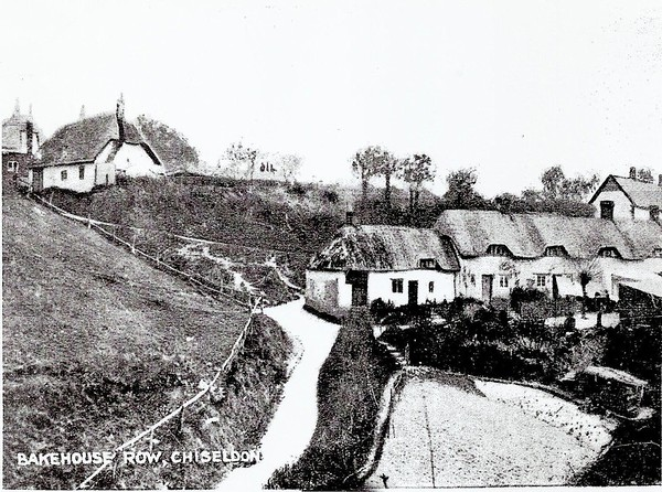 End cottage was Wash House where the Parish washing was done,later to become village Bakehouse in the 1860`s to 70`s.