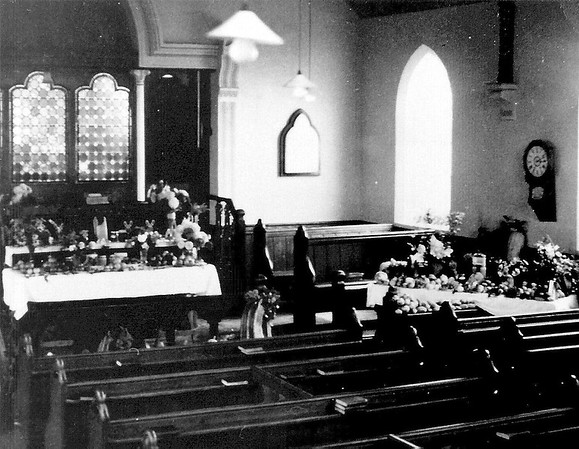 This is a gem..inside the Methodist Chapel before modernization in the 1920`s