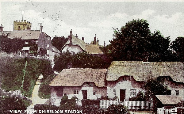 Original village Workhouse,latterly converted into four cottages 1916