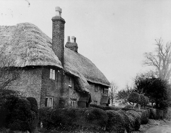 Canney Cottages,homes of the Ralf and Stevens families 1952
