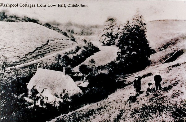 Children on Cow Hill,common land 1910
