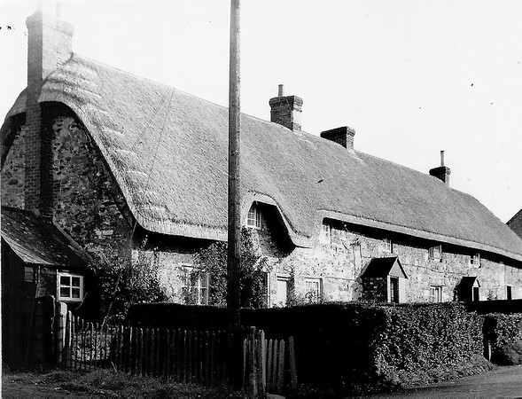 Station Rd cottages,formerly The Workhouse 1965