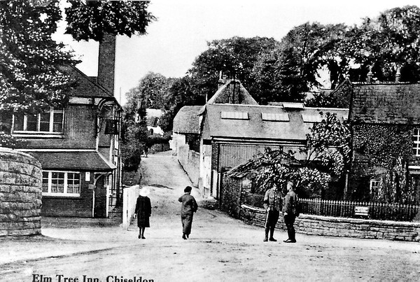 New Elm Tree Inn with Foundry opposite 1914