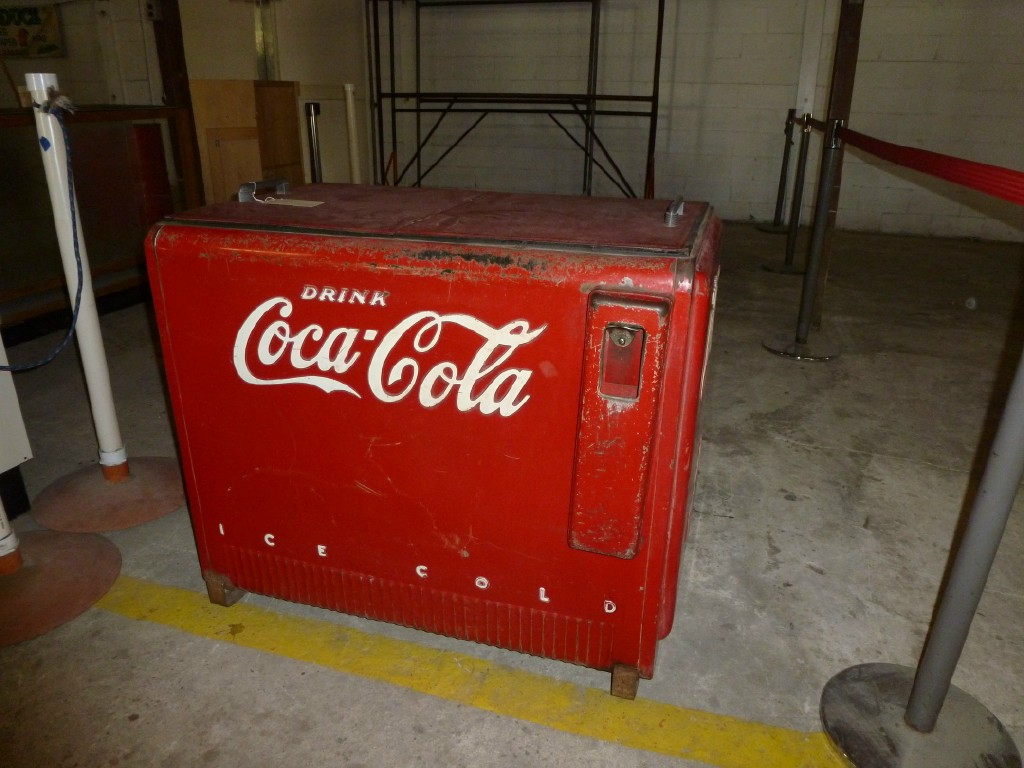 Water cooled Coke box