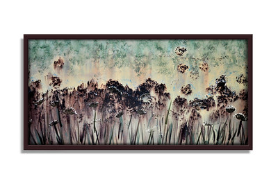 """Forest Meadow Three"" - Acrylic on canvas - (40 cm x 30 cm) *** SOLD ***"