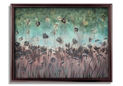 """Forest Meadow One"" - Acrylic on canvas - (80 cm x 60 cm) *** SOLD ***"