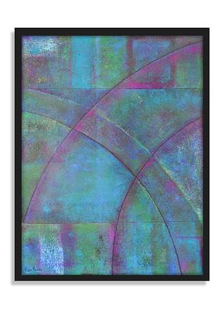 """""""The Arch"""" - Acrylic on canvas - (80 cm x 60 cm)"""
