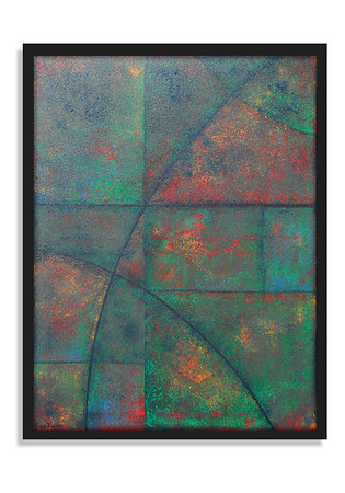 """""""Rust Bust Collect Dust"""" - Acrylic on canvas - (80 cm x 60 cm)"""
