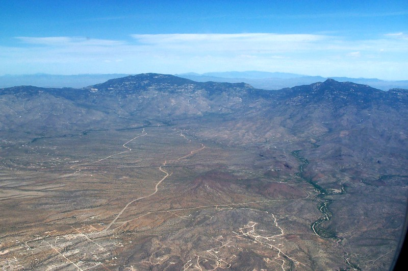 Arizona by plane