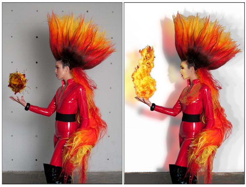 Hair: Wes Belew of Wabi Sabi Artistry - Model: Camille Kay