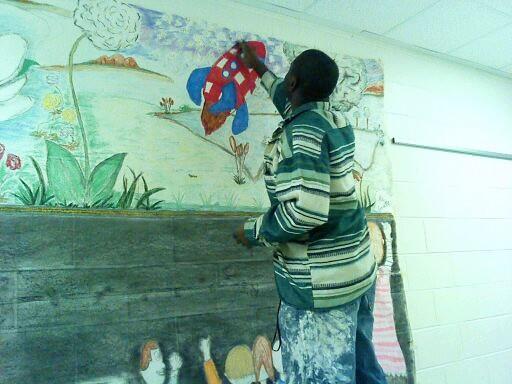 """Better Education: Positive Action"" | Kensington Elementary | 2013 | Creative Artist Elken D Grate | www.GrateCreations.com|"