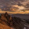 Helm Horn Viewed From Helm Peak Sunrise