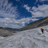 Crossing Helm Glacier