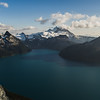 Garibaldi Lake - From Panorama Ridge