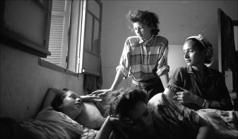 Tunesie 1995, Karima, Nawal, Soenia en Lilia