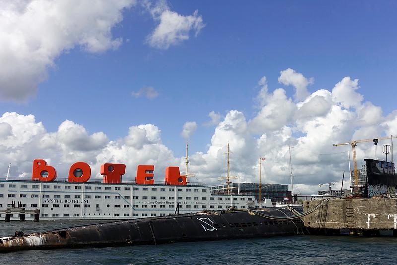 Nederland, Amsterdam, 24-08-2018,   NDSM, foto: Katrien Mulder