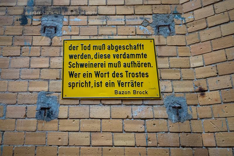 Berlijn, augustus 2021, <br /> <br /> Amen<br /> <br /> foto: Katrien Mulder