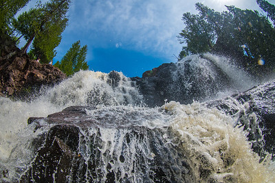 Front and Center (Gooseberry Falls)