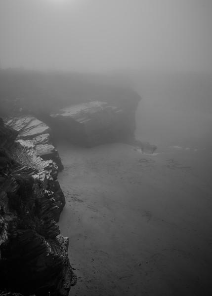 Playa en la niebla - Ribadeo