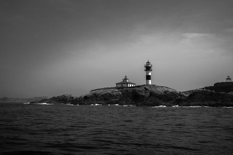 Faro de Isla Pancha - Ribadeo