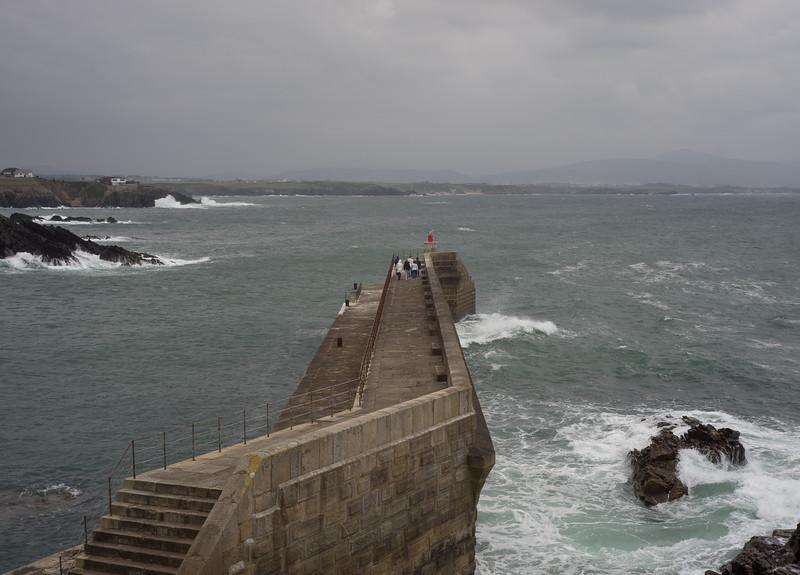 22 de Marzo de 2015 - Espigón de Tapia de Casariego. Asturias.