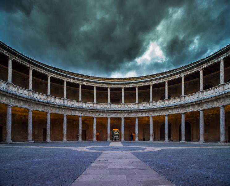 3 de Diciembre de 2014 - Palacio de Carlos V. La Alhambra. Granada.