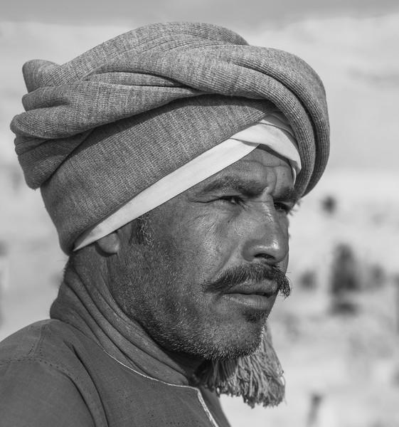 10 de Marzo de 2015 - El rais Ali. Capataz de la excavación de Djehuty. Luxor. Egipto