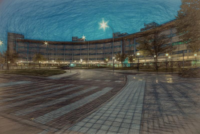 Oct 25 2014 - Plaza de la Encina. Tres Cantos