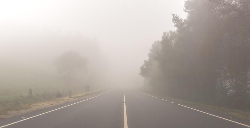 Camino de Santiago Cruce Peligroso