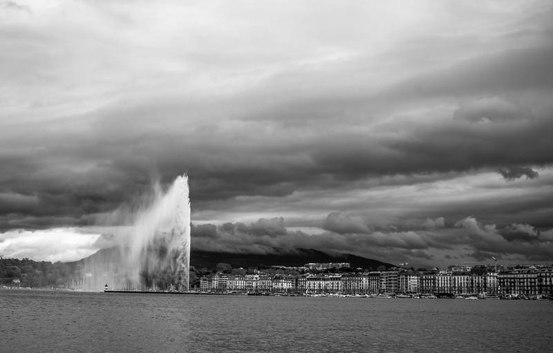 Vista de Ginebra