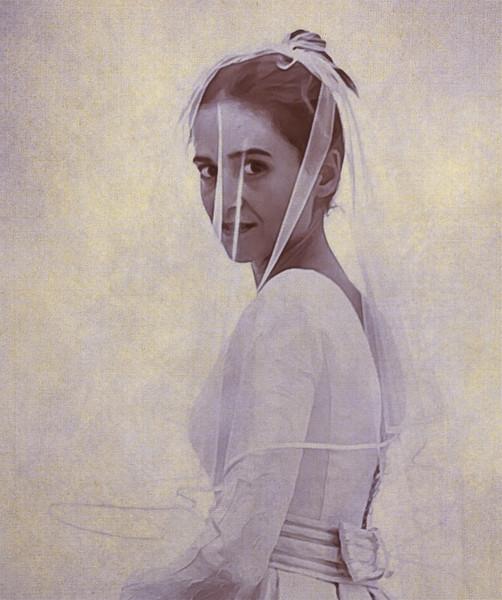 22 de Diciembre de 2014 - Mi hija Maria, hoy, el día de su boda.