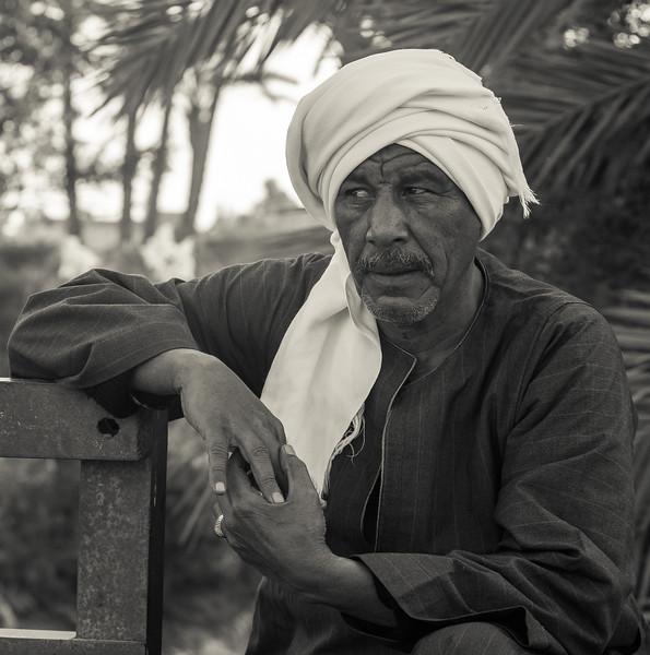 10 de Febrero de 2015 - Hombre. Luxor. Egipto