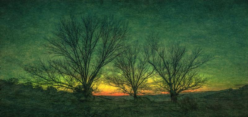 12 de Diciembre de 2014 - Crepúsculo. Tres Cantos