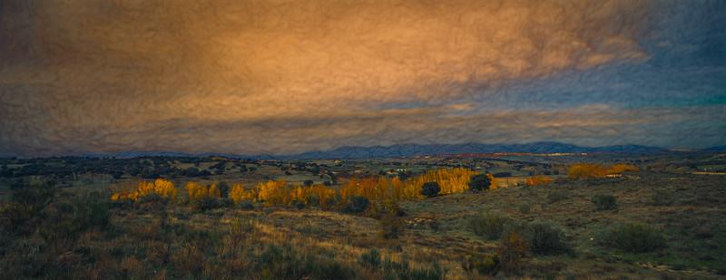 24 de Noviembre de 2014 - Guadarrama, Colmenar Viejo, y el arroyo Tejada, desde ValdelosHielos, Tres Cantos