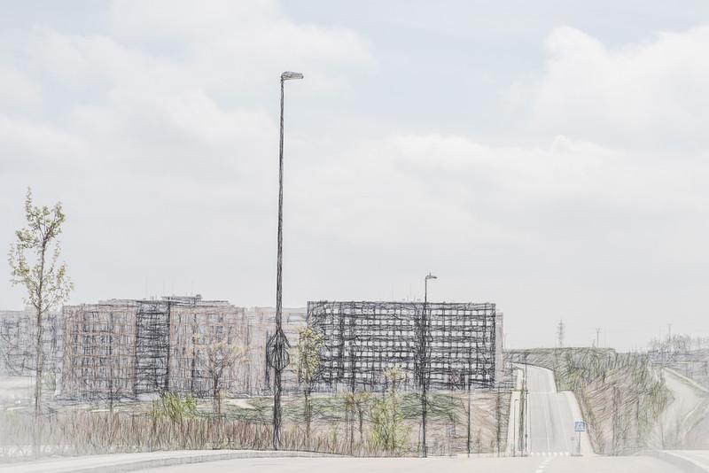 13 de Abril de 2015 - Avenida de Castilla y León Tres Cantos